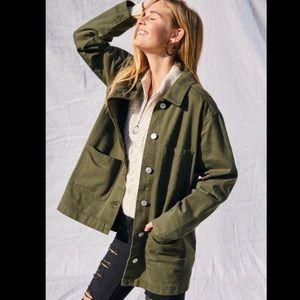 Pacsun Green Cargo Jacket